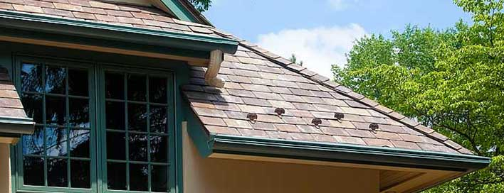 how to clean rain gutters on second story